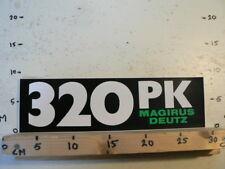 STICKER,DECAL MAGIRUS DEUTZ IVECO ? 320 PK  LARGE  TRUCK A