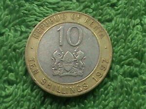 KENYA   10 Shillings    1997   *