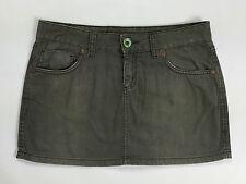Phard jeans gonna minigonna size 29 taglia 42 44 skirt studs woman usato grigio