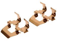 GM OEM Brake-Rear-Brake Pads Retainer Kit 18019039