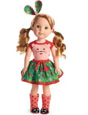 "AMERICAN GIRL DOLL WELLIE WISHERS ""WILLA""  BNIB"