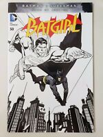 BATGIRL #50 (2016) DC 52 COMICS GIANT-SIZE! BATMAN Vs SUPERMAN VARIANT COVER ART
