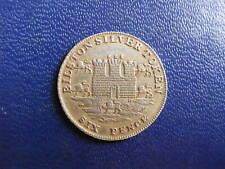 Token: Staffordshire, Bilston Silver Sixpence Token 1811