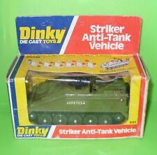 Dinky / 691 Alvis Striker Anti Tank Vehicle / Boxed