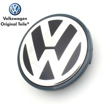 🔥 100% Genuine VW Alloy Wheel Centre Cap Black Anthracite - 7L6601149B RVC