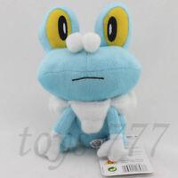 "Froakie Character 7"" Stuffed Animal Nintendo Game Cartoon Frog Plush Toy Doll"