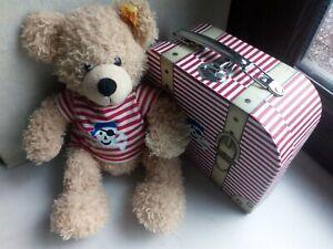 Steiff Teddybär Pirat 111266 mit Koffer