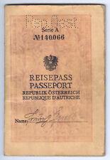 Reisepass Österreich 1930,Oberwart,Burgenland,Ungarn,passport,pass,Visa,hungary