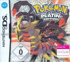 Nintendo DS 3DS POKEMON PLATIN EDITION DEUTSCH * Sehr guter Zustand