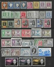 2 scans-Collection of mostly good used Gambia stamps.