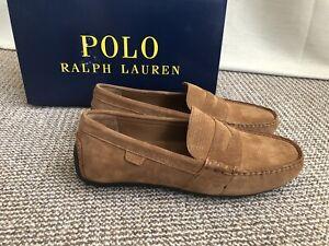 Polo Ralph Lauren Men Suede Driving Shoes Loafers Size UK 8 EUR 42