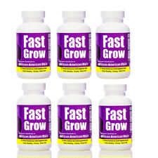 Fast Grow Vitamins (6)  African American Hair Growth Products Pills Black Women