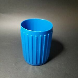 Vtg Yahtzee Replacement Dice Cup Blue Plastic Milton Bradley Made in USA
