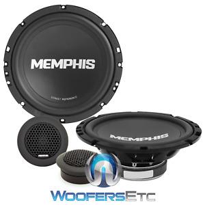 "MEMPHIS SRX60C 6.5"" CAR AUDIO 100W COMPONENT SPEAKERS SOFT DOME TWEETERS NEW"