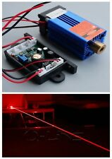 Industrial 200mW 650nm 658nm Red Dot Laser Module DC12V Stage Lights Long-Time
