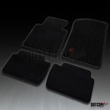 1999-2005 BMW E46 3-Series M3 330i Front+Rear Black Carpet Floor Mats 4PC