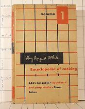 Mary Margaret McBride   Encyclopedia of Cooking   Vol 1  1958 Hardcover   b240