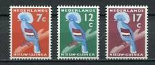 37203) NEDERLANDS NEW GUINEA 1959 MNH** Crowned birds 3v