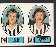 PANINI CALCIATORI CALCIO 1977-78 autoadesivo, n. 354-ASCOLI-Eugenio perico