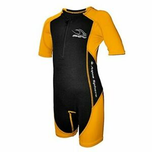 Aqua Sphere Stingray Swim Suit Youth 6 Short Sleeve Thermal and UV Protection