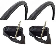 Pair of Road Race Racing Bike Bicycle Cycle 700c x 23 Tyres and Inner Tubes