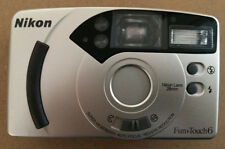 nikon point and shoot P&S fun touch 6 super viewfinder auto focus red-eye 28mm