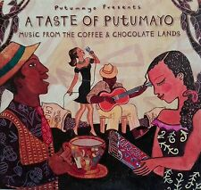 "PUTUMAYO WORLD MUSIC box ""A TASTE OF PUTUMAYO"" sampler promo rare 3cd"