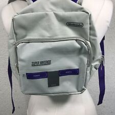 Official Super Nintendo SNES Console Mini Backpack 2 Pockets CultureFly