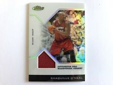 2004-05 Topps Finest Shaquille O'neal Refractor #48/179 Jersey 10/10 Basketball