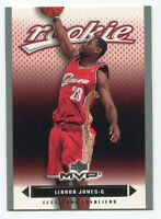 LEBRON JAMES 2003-04 Upper Deck MVP SILVER SP Rookie #201 - RC UD
