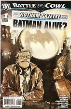 Batman Battle for the Cowl '09 Batman Alive? 1 VF A4