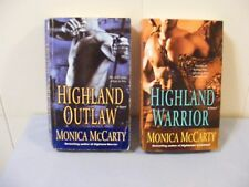 Lot of 2 MONICA McCARTY- #1 #2 Campbell Trilogy - Historical Romances - pbs