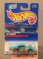 Hot Wheels 2000 57 Chevy Toy Car Mattel New In Box