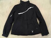 Spyder Winter Jacket 10 Girls Black Winter