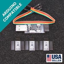 3x Arduino Pro Mini Pro & USB Programmer Newest Design FAST USA Seller U54