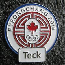 2018 PyeongChang Olympic Teck COC Pin