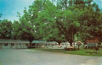 Crystal Motel Glass House Restaurant US 301 25 Glennville Ga Henry H Ahrens