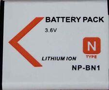 Battery for SONY Cyber-shot DSC-W530 DSC-W550 DSC-W560 DSC-T99C WX5C W570 W350D