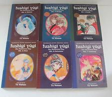 Fushigi Yugi by Yu Watase Manga Lot Series Books Vol. 2-7 2 3 4 5 6 7 Mysterious