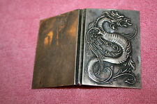 1900 R. Blackinton & Co Dragon Card Holder marked Sterling B with Dagger 2026