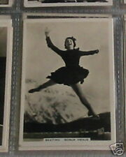 #30 patinaje sobre hielo-tarjeta de cigarrillo-Sonja Henje