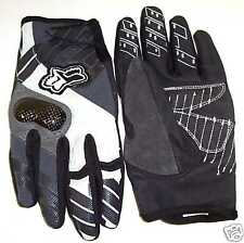 Bicycle Carbon Gloves Fox Unabomber Size 7 XSmall Blk
