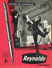 PUBLICITE ADVERTISING 024   1960   REYNOLDS     stylo bille
