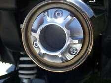 YAMAHA 3D CNC EXHAUST TIP KODIAK WOLVERINE 350 400 450 w/ SPARK ARRESTOR SCREEN