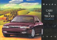 1996 Mazda Cars and Trucks  Dealer Sales Brochure -- 626 - RX-7 -- Millenia