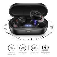 Bluetooth 5.0 Headset TWS Wireless Earphones Earbuds Stereo In-Ear Headphones Z