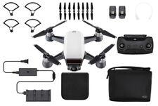 DJI Spark Alpine White Quadcopter Drone Essentials Bundle Spark Drone