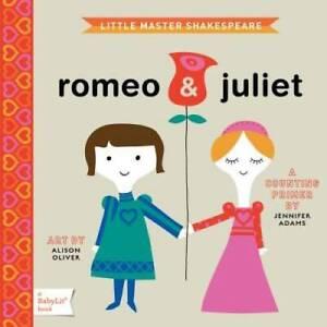 Romeo & Juliet: A BabyLit® Counting Primer (BabyLit Books) - Board book - GOOD