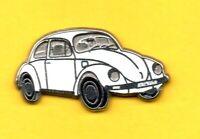 Pin's Pins lapel Pin CAR CARO Auto COX COCCINELLE VW VOLKSWAGEN BLANCHE ZAMAC