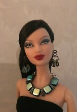 """Handmade doll jewelry necklace earrings fits Barbie doll and 11.5/"""" dolls 908A"""